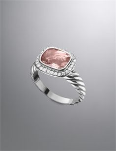 David Yurman - Search: morganite ring