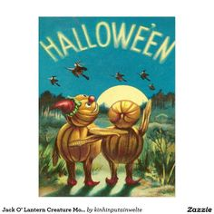 Jack O' Lantern Creature Monster Witch