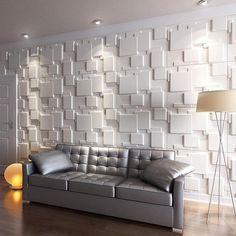 Interior Walls, Home Interior, Interior Decorating, Interior Design, Wall Cladding Interior, Classic Interior, Decorating Ideas, 3d Wall Tiles, Decorative Wall Tiles