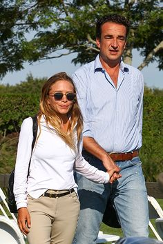 Mary-Kate Olsen and Olivier Sarkozy still have the look of love.