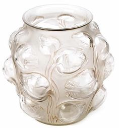 0995 R. Lalique Vase Tulipes