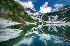 Lake near the road to Grossglockner m), the highest mountain of Austria and the highest mountain in the Alps east of the Brenner Pass. Alps, Good Day, Austria, Reflection, Mountains, Water, Travel, Outdoor, Buen Dia