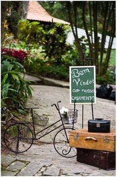 Coisinhas de Noiva: Decoração - casamento ao ar livre.