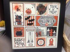 My Stampin'Up! Halloween Sampler Frame 2015