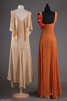 Bias Cut- created by designer Madeleine Vionnet in 1927. It revolutionized the silhouette. It allowed the dress fabric to cling to the body.