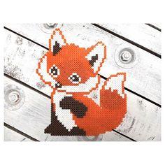 Fox hama beads by dassommersprossenmaedchen