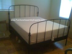 ikea LILLESAND bed frames assembled in Arlington Virginia by Furniture Assembly Experts company