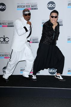 PSY and MC Hammer at the Alps. This is awesome haha Mother Father Gentleman, Bestest Friend, Gangnam Style, Best Dance, Big Fashion, Celebs, Celebrities, Music Love, Record Producer