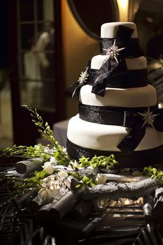 Black and White #black and white wedding