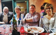 Lovely photo of another great group at our April Monthly Networking Luncheon! The food at Affresco was delicious!