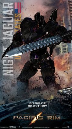 Pacific Rim Jaeger NIGHT JAGUAR by muntu1221