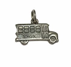 James Avery, Sterling Jewelry, Sterling Silver, Bus, Vintage Costumes, Vintage Jewelry, Jewelry Accessories, Charmed, Personalized Items