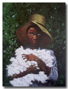 The Cotton Kid by William Shelton. This hung in the home of my in-law's until they both passed. Nobody in the family wanted it. Looking back, wish I would have agreed to take it. African American Artwork, American Artists, African Art, Art Addiction, Black Artwork, Brown Art, Beautiful Artwork, Artist Art, Art Images