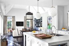 Kitchen + living - burnham design