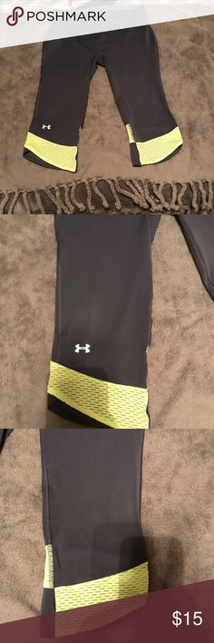 Under Armour Heatgear Capri Under Armour Heatgear Capri Never been worn Under Armour Pants Capris