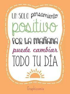Amanecer con la actitud correcta, hace la diferencia. #TheTaiSpa #Frases #Positivismo