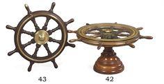 A ship's wheel coffee table Ship Wheel, Ships, Coffee, Table, Furniture, Home, Mesas, Kaffee, Boats