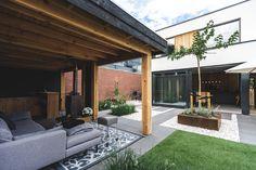 Bedroom Colors, Exterior Design, Garden Design, Pergola, Outdoor Structures, Patio, Outdoor Decor, Modern, Garden Ideas