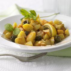 Koche jetzt Marokkanische Kartoffel-Zitronen-Pfanne in 20 und entdecke zahlreiche weitere Weight Watchers Rezepte. Fruit Salad, Cantaloupe, Potatoes, Healthy Recipes, Food, Boards, Apples, Recipes, Moroccan Cuisine