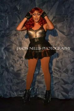 Jujubee performing in Indianapolis, IN.   Photo © Jason Nellis Photography.