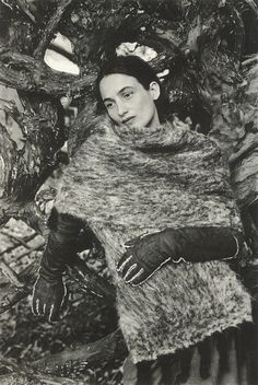 """""""Portraits of Women in Hermes"""": Marie-Ann photographed by Joanna van Mulder wearing Hermes designed by Martin Margiela for Le Monde d'Hermes, No. 35, 1999 Vol. II, F/W 1999 http://crystallizations.tumblr.com/post/42819630494/portraits-of-women-in-hermes-marie-ann"""