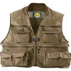 Large.  Cabela's Three Forks™ II Mesh Vest at Cabela's