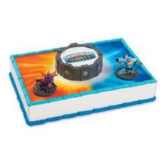 Skylanders Cake Kit by ABirthdayPlace on Etsy, $8.99