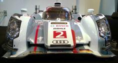 Audi Le Mans race car