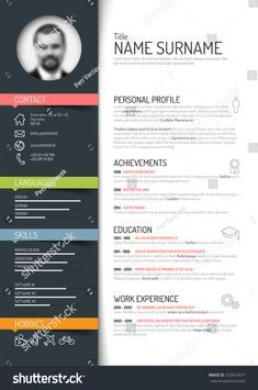 Cv Template Illustrator Cvtemplate