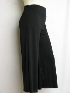 Silhouettes Catalog Fashions Plus Size | ... » PP-1012 » GORGEOUS CLASSY BLACK PLUS SIZE GAUCHO CAPRI 123X