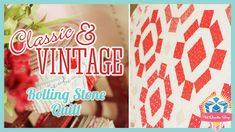 This fun tutorial shows you how to make a Rolling Stone block and includes a link to a FREE block pattern!