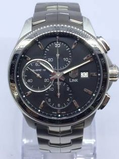 secondhand Tag Heuer Calibre 16 Watch Cat2010   A Pre-owned But Unused Tag Heuer Calibre 16 Watch With 43mm Brushed Steel Case, Chronograph And Date Features And Automatic Movement.   Comes With Original Box And Papers Dated July 2014.   New Price £3195.