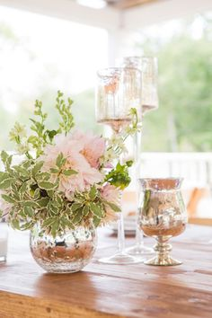 Pretty decor: http://www.stylemepretty.com/new-york-weddings/2015/04/13/whimsical-wedding-at-shakespeare-on-the-hudson/ | Photography: A Guy & A Girl - http://aguyandagirlphotography.com/