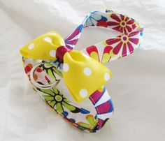 Small dog harness velcro close Daisy Crazy2 by ParkAvenueDogs