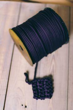 Macrame cord/ macrame yarn/ crochet rope/ crochet supplies/ macrame cord/ knitting supplies/ knitting yarn/ diy crafts/ rope cord #24 #28 Crochet Supplies, Knitting Supplies, Knitting Yarn Diy, Diy Yarn Holder, Diy Craft Projects, Diy Crafts, Macrame Cord, Crochet Rope, Chunky Yarn