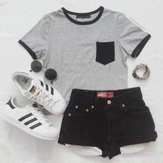 Cute Casual Summer Date Outfits either Womens Clothes Online Larger Sizes among Cute Summer Outfits For School past Cute Outfits For Hard Summer long Women's Clothing Size Chart By Weight Teenage Outfits, Cute Teen Outfits, Cute Outfits For School, Cute Comfy Outfits, Teen Fashion Outfits, Cute Summer Outfits, Outfits For Teens, Pretty Outfits, Stylish Outfits