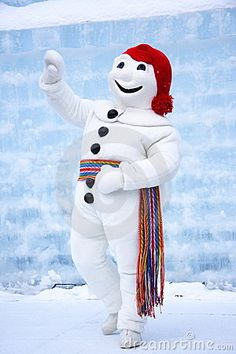Quebec Carnival (not just to see Bonhomme Carnaval)