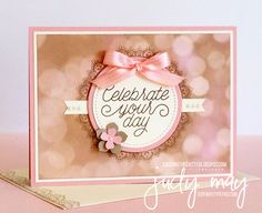 Stampin' Up! Delicate Details Sale-a-bration with Falling in Love DSP for CASE-ing the Catty - Judy May, Just Judy Designs