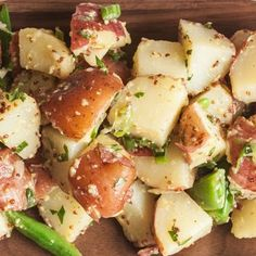 Make-It-Snappy Potato Salad @keyingredient