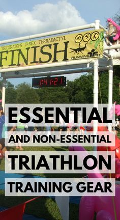 Swimming, biking, running. What do you need and what can you do without for triathlon training? Here's a triathlon gear list with tips to help you decide!