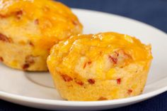 Aged Cheddar And Jalapeño Double-Corn Muffins With Black Forest Ham - try our delicious signature recipe using our Pompeian products today! Savory Cornbread Recipe, Cornbread Muffins, Corn Muffins, Cheese Muffins, Cheesy Cornbread, Epicure Recipes, Atkins Recipes, Low Carb Recipes, Cooking Recipes