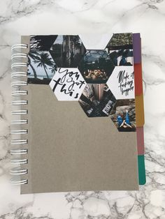 DIY notebook cover - #Cover #DIY #Notebook