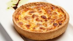 Named after the Lorraine region of France, Rachel Allen's recipe for this classic quiche is delicious served with a green salad and tangy relish Puff Pastry Quiche, Cheese Quiche, Greek Recipes, Low Carb Recipes, Baking Recipes, Quiches, Best Chicken Casserole, Lorraine Recipes, Good Food Channel