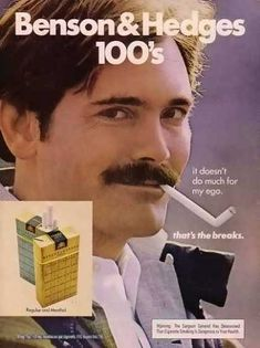 The Ultimate Collection Of 1970s Pornstache Cigarette Ads