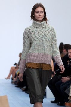 good sweater (via Chloe Fall/ Winter 2012 « The Sartorialist)