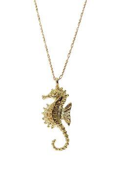 Seahorse Pendant Necklace