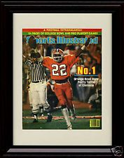 Framed Clemson Tigers Sports Illustrated Print - National Champs! - Perry Tuttle