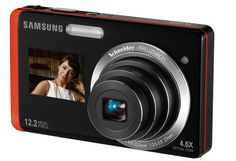 Samsung #DualView TL225. The #camera boasts of a decent 3.5-inch #touchscreen at the back along with a 1.5-inch front display for those who love to click a #photo of themselves too.