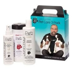 DOG GROOMING - SHAMPOOS & SOAP - OATMEAL/WIPE ASST 3 PIECES