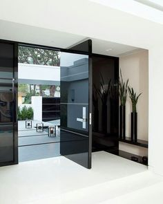 Modern Front Door Design From Jennifer Post